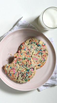 This dessert is part cookie, part cake.