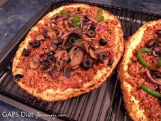 Recipe Review: Cauliflower Pizza Crust Dairy-Free and GAPS Legal