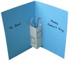 fathers day crafts, golf clubs, fathers day golf cards, father day, craft idea