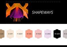 Nilit S/S 2014, shapeways trend color