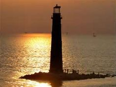 Sand Island Light - Dauphin Island, Alabama