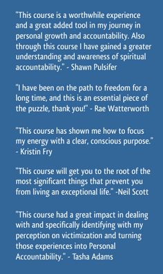 quotes about accountability   Personal Best Seminars Accountability Intensive