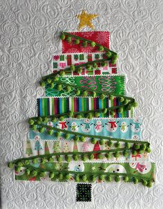 Tutorial: Quilted Christmas Tree · Quilting | CraftGossip.com