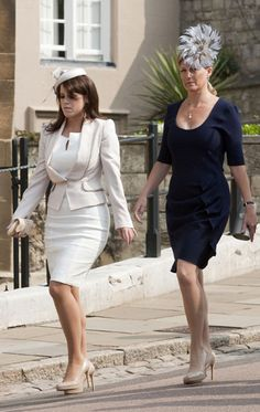 Princess Eugenie and Sophie Wessex