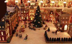 HOLIDAY ❅  Christmas Village {Awesome pics} villag awesom, christma villag, villag idea, holiday christma, christmas village ideas, christmas villages, holidays