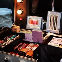 Products galore: We wish we had this Stila trunk!
