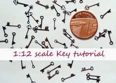 how to: 1/12th scale keys