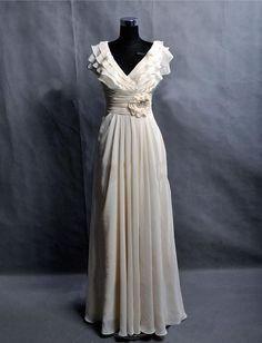 Custom Make Chiffon Wedding Dress Bridal Gown by wonderxue on Etsy, $170.00