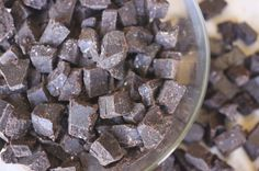 Homemade Chocolate or Carob Chips