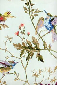 Hummingbirds Ruban Wallpaper LJW621004CS
