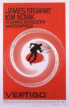 Vertigo poster by saul bass