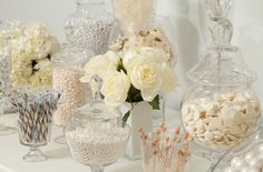 White Candy Buffet #nutsdotcom  #wedding