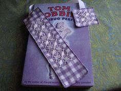 Chicken Scratch Bookmarks Tutorial