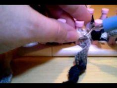 Loom Knit Drop Stitch Ruffle Infinity Scarf-Part 1
