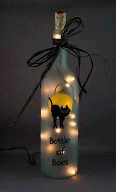 Good idea for those empty wine bottles.