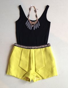 black & yellow #swoonboutique