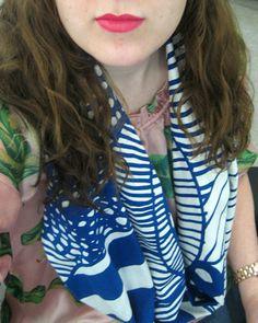 circles, craft, sew tutori, circl scarf, scarves, marimekko, diy