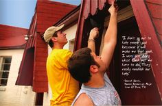 Every year, many LeTourneau University students participate in the Longview Blitz, a Saturday of service projects designed to bless the Longview community. www.letu.edu/
