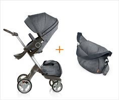 hehe: the stroller I wanted to get...until I found out it was twins!!! Would be cool in a twin version, especially since the babies sit up higher, On the Go: StokkeXplory // http://ohjoy.blogs.com/my_weblog/2012/01/baby-registry.html