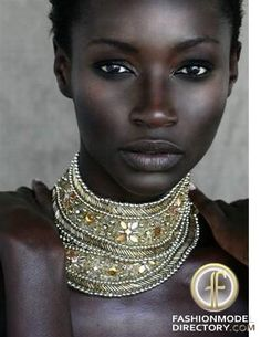 black beauty #blackwomen natural skin, skin care, beaded necklaces, statement necklaces, collar, black beauti, beauty queens, eye, natural beauty