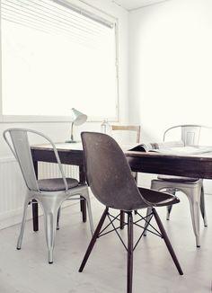 mix 'n match chairs