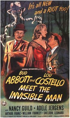 Abbott and Costello Meet the Invisible Man (1951) - Abbott & Costello