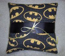 Batman ring bearer pillow