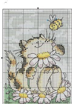 Cat and Daisies, and various Margaret Sherri designs.