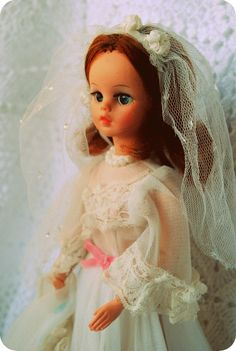 Boneca Susi Noiva 70s