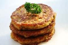 Chick pea cakes