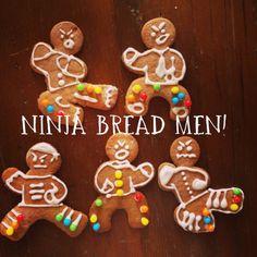 Ninja Bread Men! Kits available at Kroger.