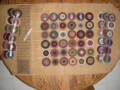 The making of a Penny Rug, by Colleen MacKinnon