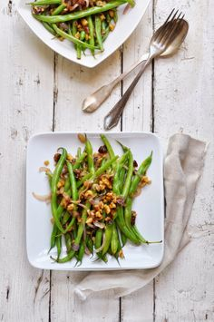 Green Beans with Dates and Walnuts