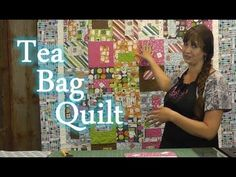 "http://missouriquiltco.com -- Hillary (Jenny Doan's daughter) demonstrates how to make a quilt that her sister Natalie came up with many years ago, which she calls the Tea Cup Quilt. It's a quick and easy quilt to make, and uses layer cakes (10"" squares)"
