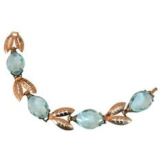 Check out this item at One Kings Lane! Sterling Blue Crystal Bracelet