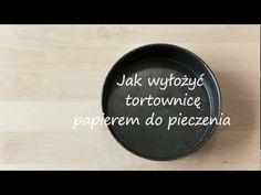 Jak wyłożyć tortownicę papierem do pieczenia - Allrecipes.pl