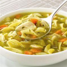 Slow Cookers Chicken Noodle Soup - via www.mccormick.com