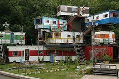camper, park, mansion, mobile homes, dream homes