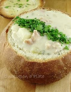 clam chowder!