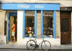 Paris, Village Voice    a good English-American bookshop near Saint-Sulpice