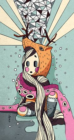 Winter illustration by Igor_Eezo