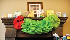 Clever Children's Book Theme Baby Shower // Hostess with the Mostess®