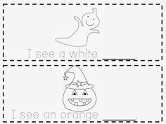 Free Halloween Emergent Reader