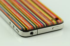 iPhone Case by GroveMade, made from old skateboards