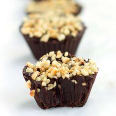 Chocolate Hazelnut Truffle Cups - Errens Kitchen