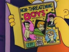 lisa simpson, funni thing, the simpsons, magazines, book clubs, classic simpson, boy magazin, threaten boy