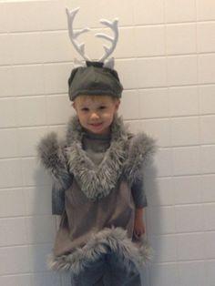 Delux Sven reindear frozen kristoff boys toddler by QueenFrance