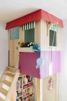 """indoor """"tree house"""""""