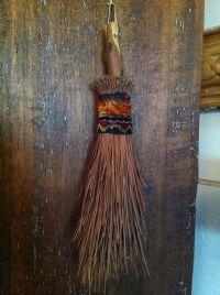 Homemade whisk broom...