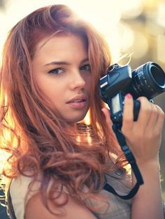 photographi inspir, hair colors, pretti redhead, red hair, soft colors